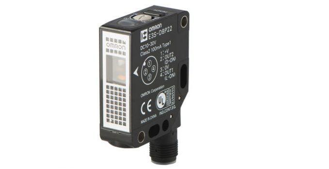 OMROM E3S-DB, sensor para objetos transparentes