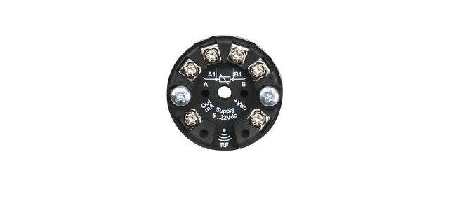 Convertidor RTD y Termopares para cabezal DIN - RFid (NFC)