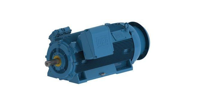 Motor WEG HGF 630 kW 4P 400C/D/E 3F