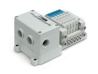 SMC bloque de electroválvulas SERIE SY