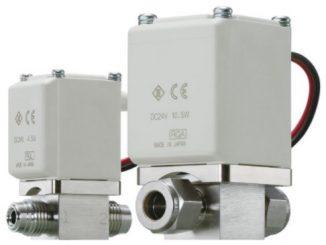 Electroválvulas de alto vacío XSA de SMC
