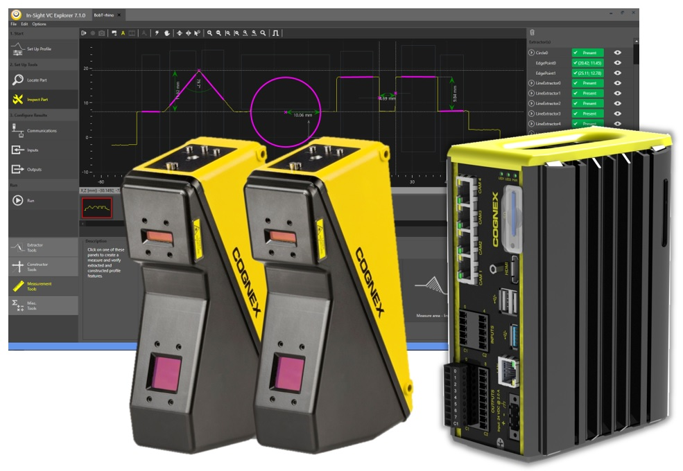 In-Sight Laser Profiler Cognex