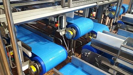 soluciones higiénicas de manipulación de materiales de Interroll