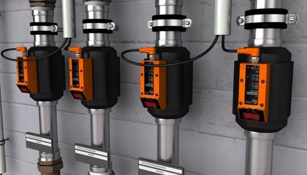 Caudalímetros de aire comprimido de IFM electronic