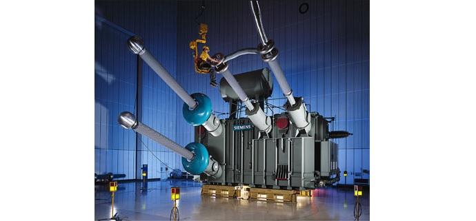 Siemens El primer transformador HVDC de 1.100 kV del mundo