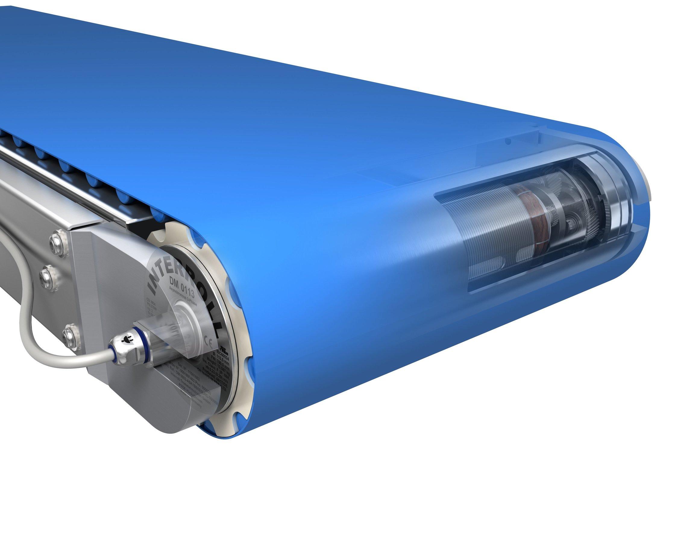 Interroll presenta su solución de transporte para ultracongelado