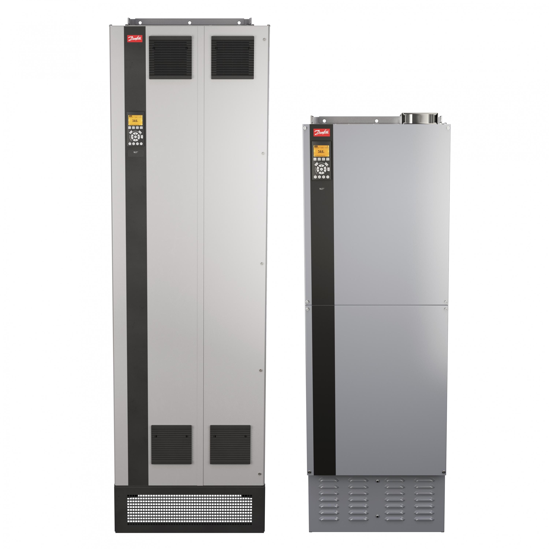 Nuevo bastidor del convertidor de frecuencia VLT de tamaño E de Danfoss
