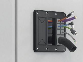 Placa marco KDS-FP: La mejor gestión de cables