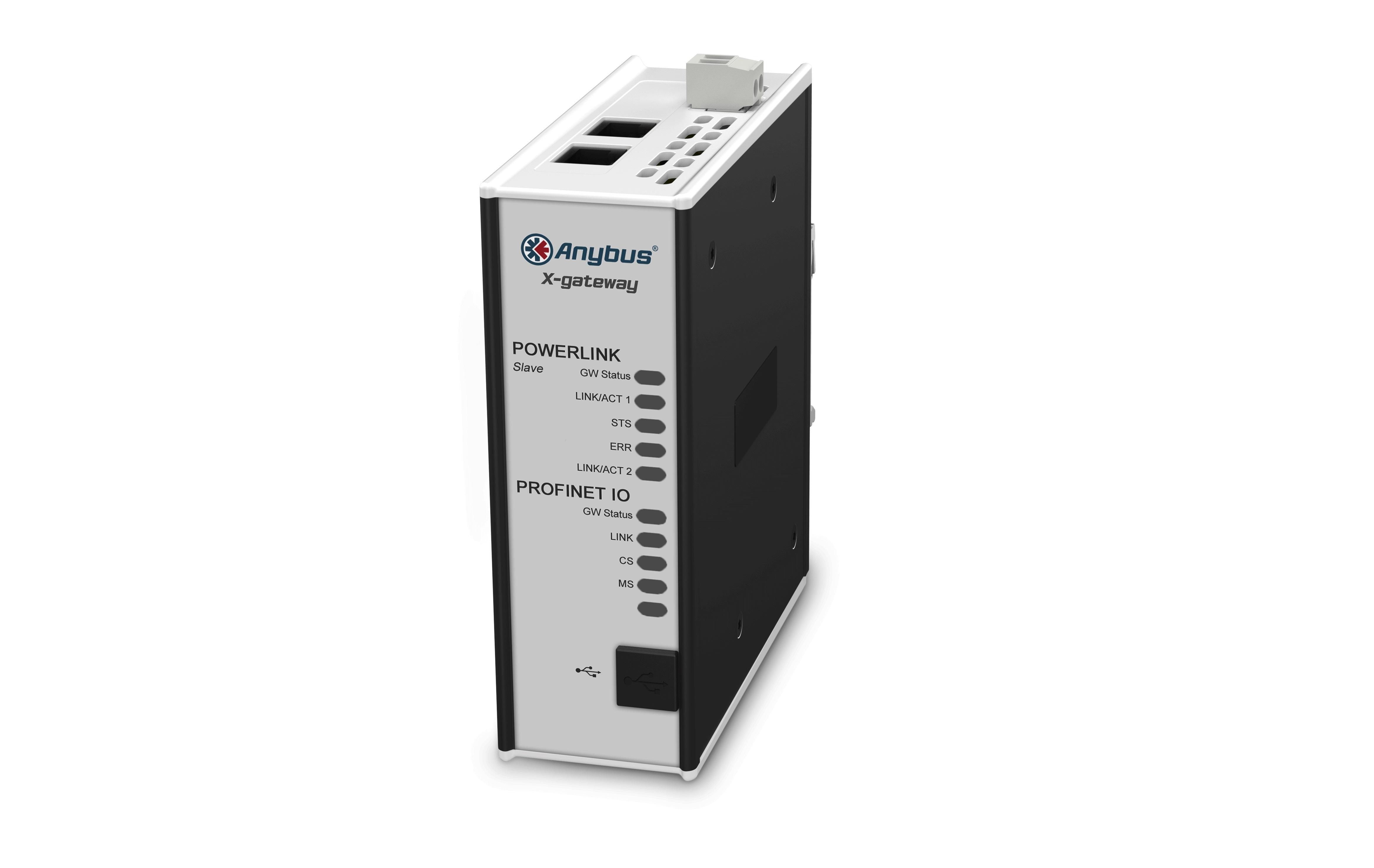 Las pasarelas Anybus X ofrecen conectividad a Ethernet POWERLINK
