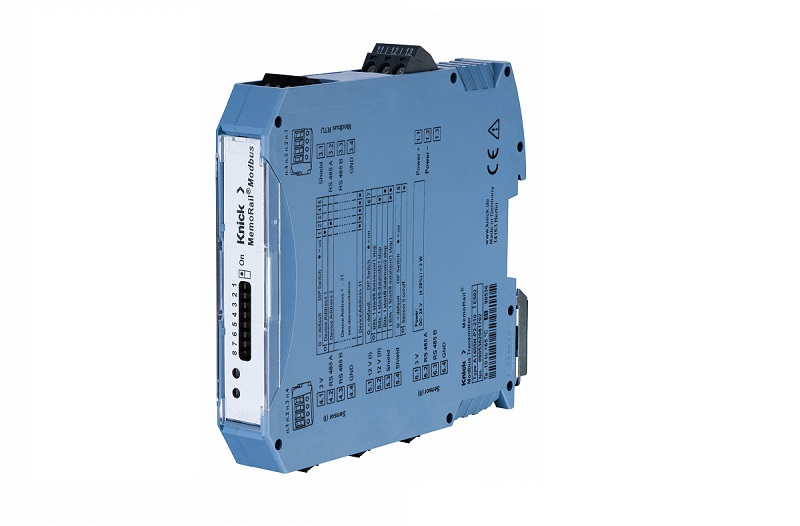 MemoRail Modbus A1405N: convertidor para una integración Memosens-Modbus