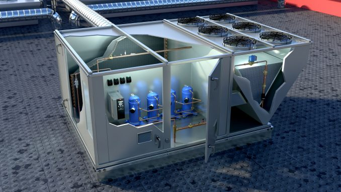 Danfoss elimina el aceite de sus productos para optimizar chillers y rooftop