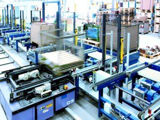Accionamientos de NORD para la tecnología de transportador de palés gracias a NORDAC BASE