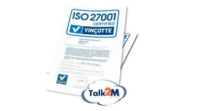 HMS ha recibido la certificación ISO27001 para eWON® Talk2M