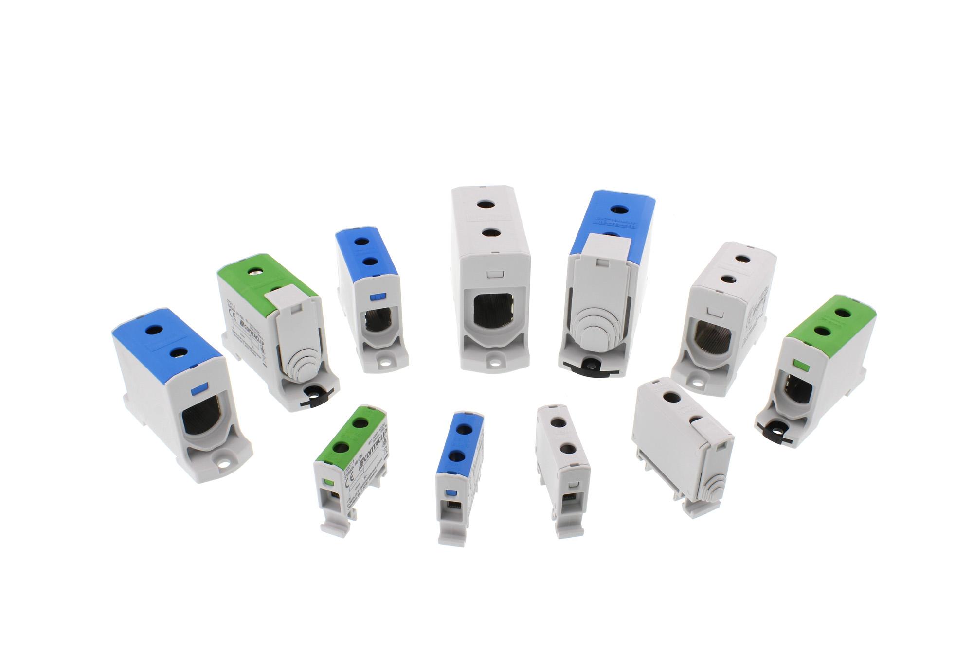 Nuevos bloques de distribuidores de tornillo de CONTA-CLIP: SVBA y SVBK