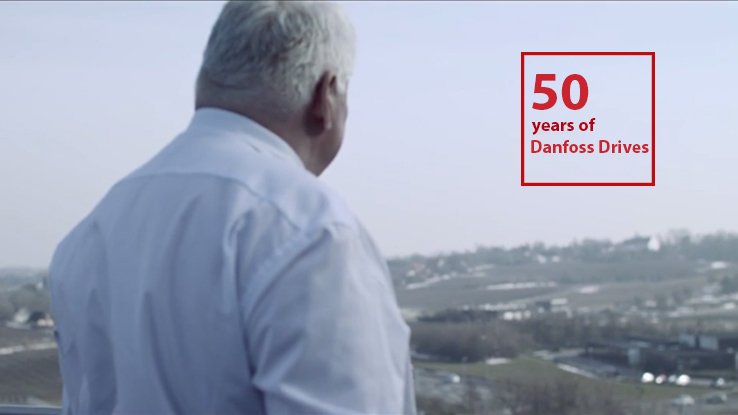 Variadores AC de Danfoss: 50 años de pasión