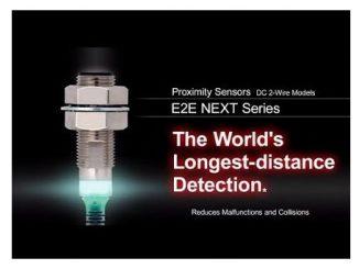 Sensor de proximidad E2E NEXT de Omron