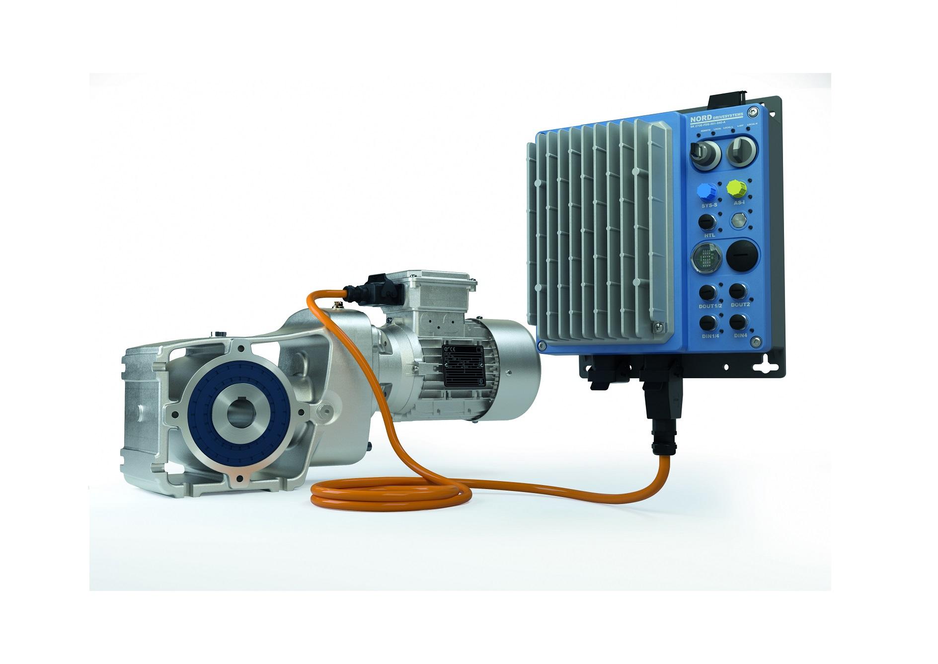 Motorreductor IE4 LogiDrive: reducción de costes gracias a la estandarización