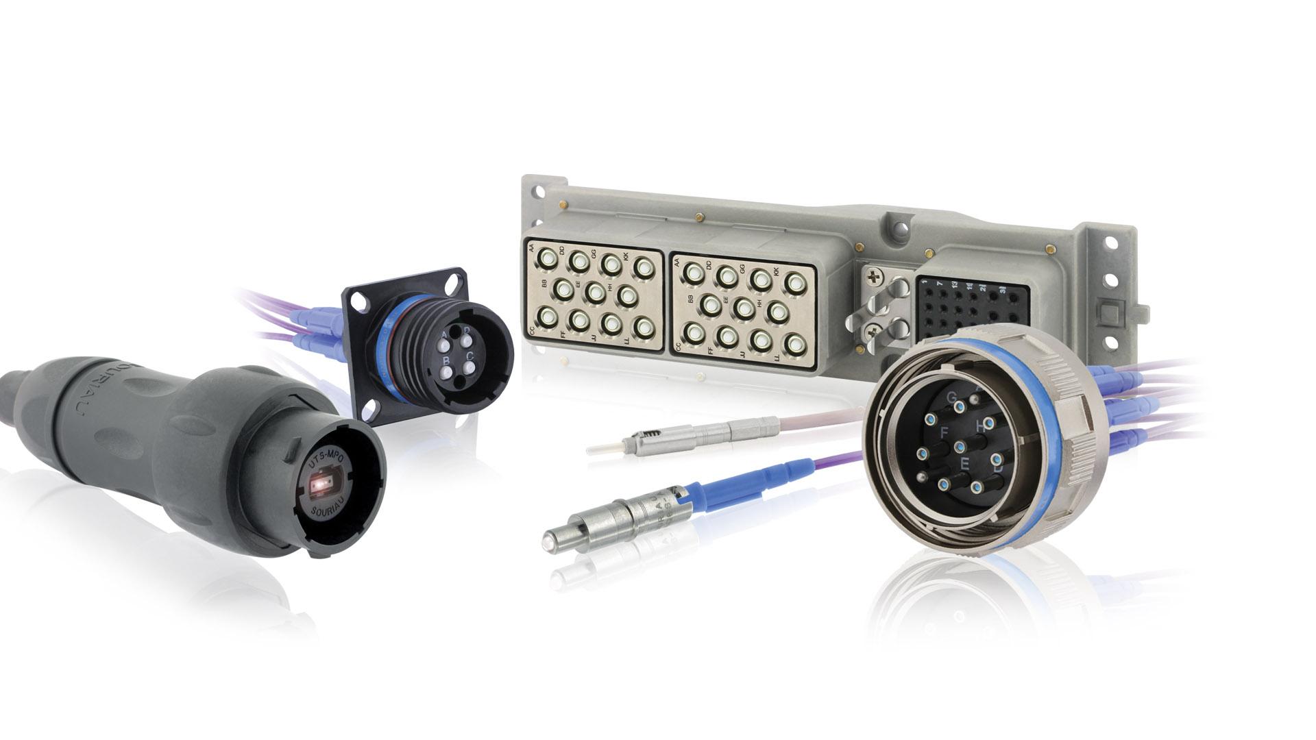 Conectores de fibra óptica SOURIAU: solución personalizada para la industria
