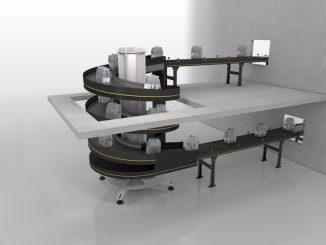 Uso eficiente del espacio gracias al transporte vertical del nuevo Spiral Lift