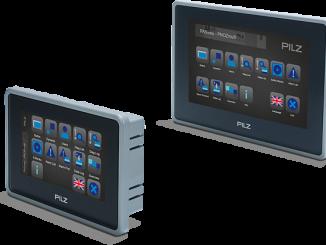 Nueva gama de paneles PMIvisu v7elow costde Pilz para visualización y diagnosis