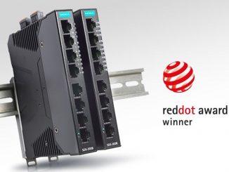 Los conmutadores inteligentes SDS-3008 ganan el premio de diseño Red Dot Award