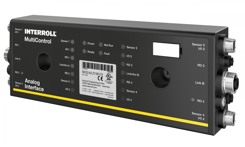 Multicontrol de Interroll: un sistema de control con funciones avanzadas