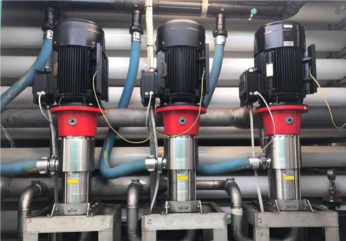 Desalación industrial con bajo consumo de energía de la mano de Danfoss