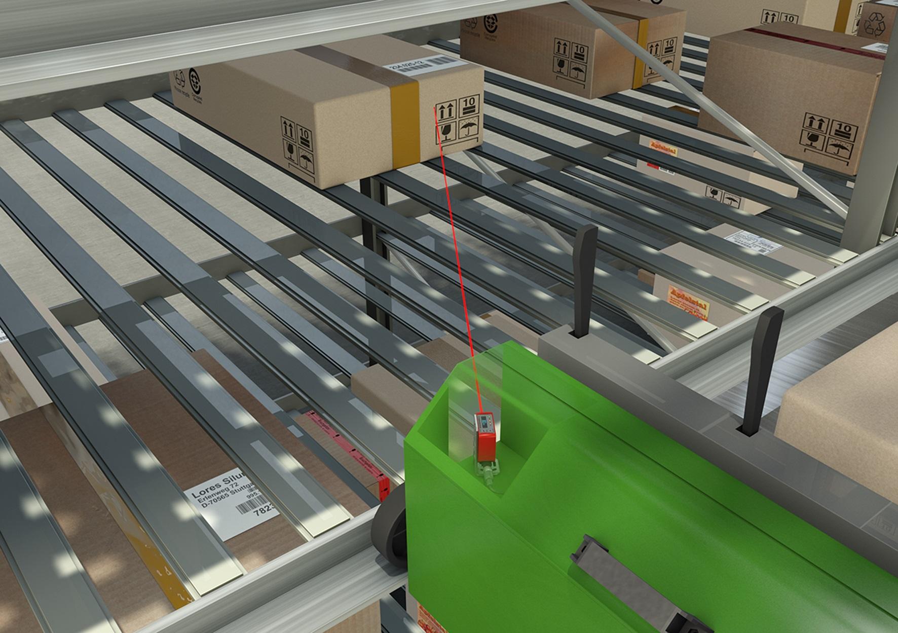 Control de compartimentos ocupados con profundidad múltiple | Foto: Leuze electronic