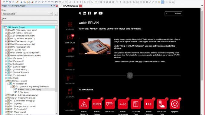 EPLAN Electric P8 estrena nuevo diseño