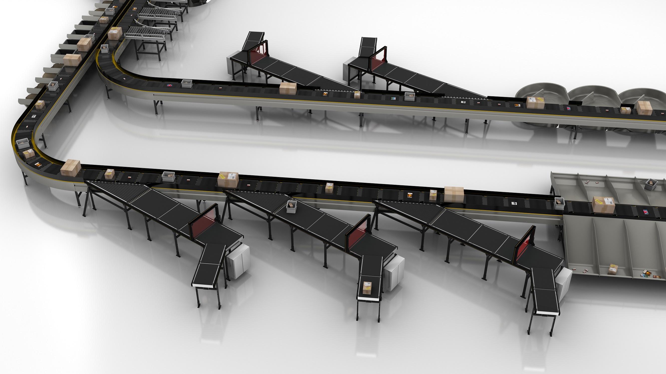 Los Crossbelt Sorters dan un salto de calidad con la nueva inducción de Interroll