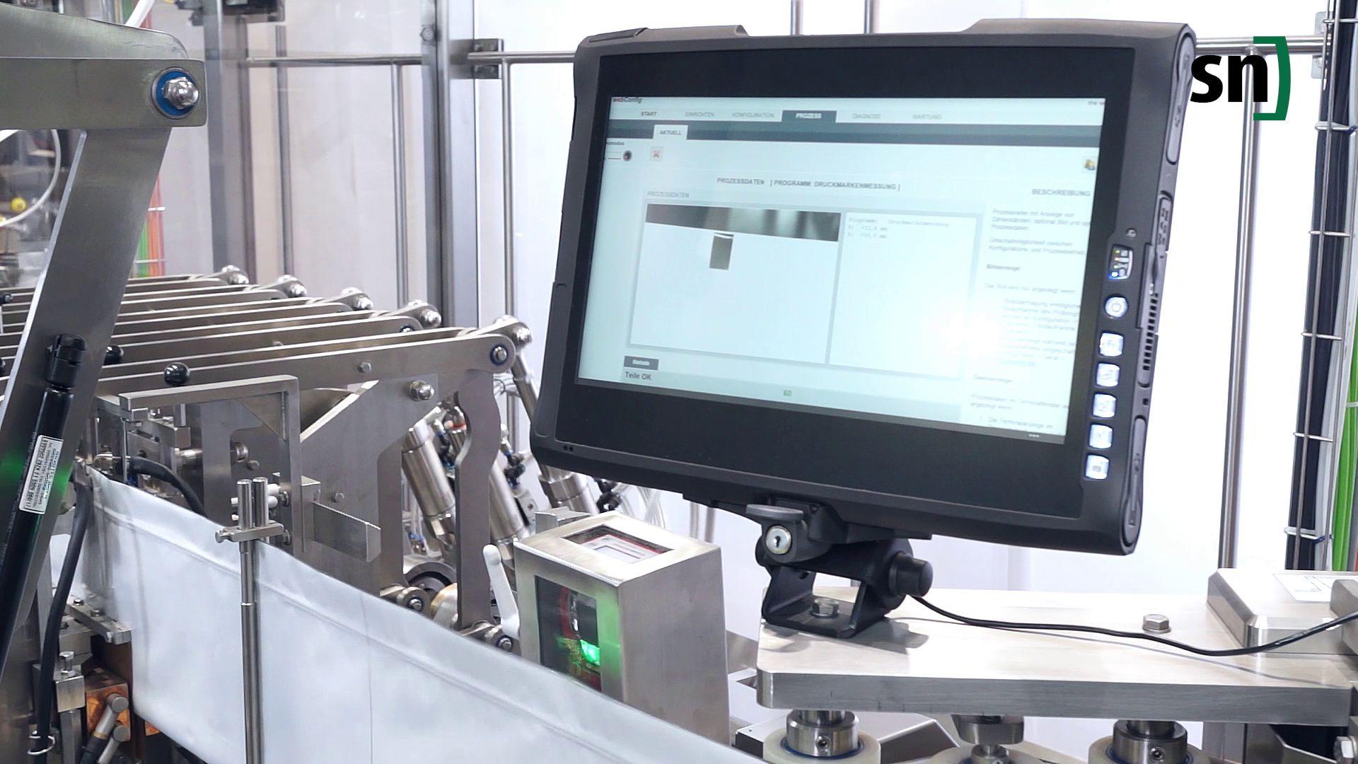 Smart Cámaras de Leuze: control de calidad a alta velocidad para SN Maschineabau