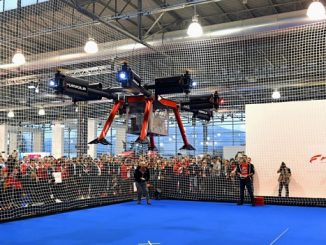 FPT Industrial record dron