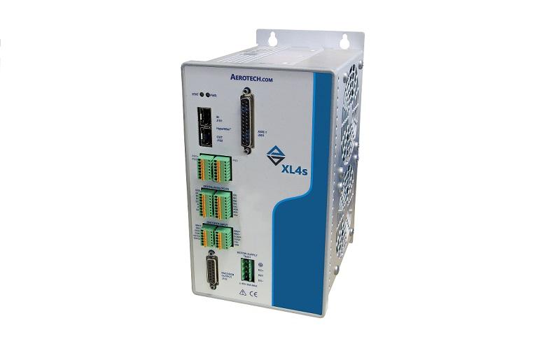 Amplificador lineal XL4s: servocontrol de circuito cerrado de Aerotech a 192 kHz