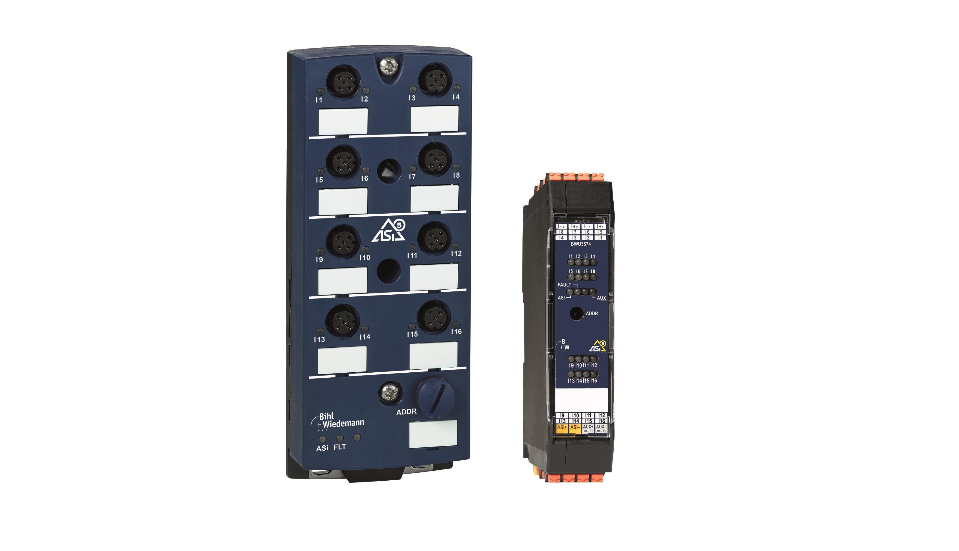 Primeros módulos digitales ASi-5 de Bihl+Wiedemann
