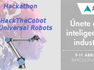 Advanced Factories hackathon HackTheCobot de Universal Robots