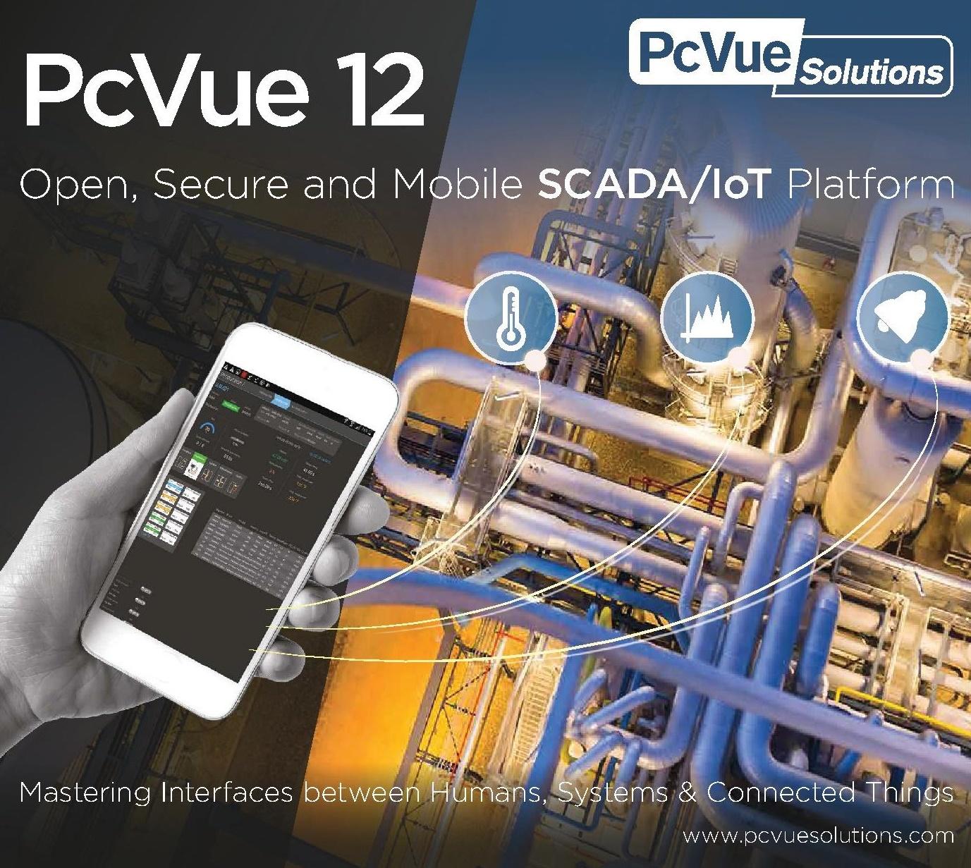 PcVue 12: ARC Informatique va más allá con su nueva versión de SCADA