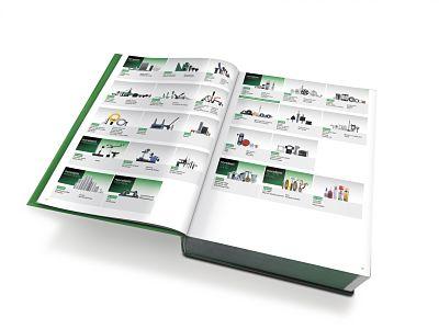 HE BIG GREEN BOOK reúne las 45.000 soluciones de norelem para ingenieros