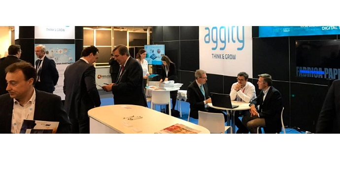 Aggity expone en Advanced Factories la potencia de su solución Industry 4.0