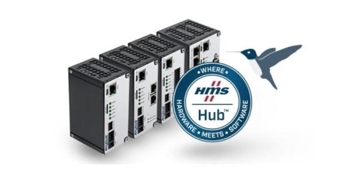 Todo el potencial de la IIoT al conectar con Anybus Edge mediante HMS Hub