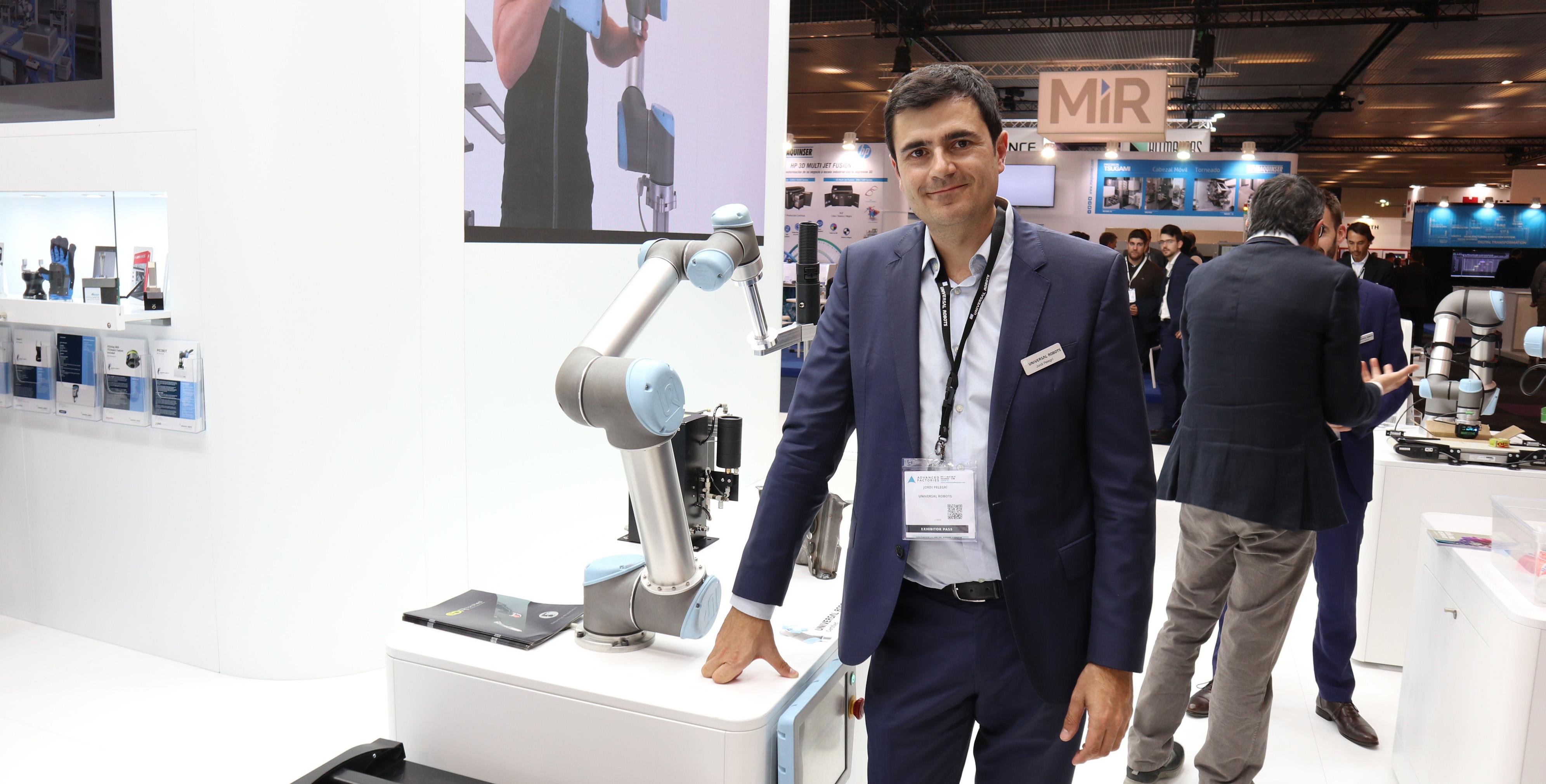"""Jordi Pelegrí: """"La pequeña y mediana empresa entra en el uso de la robótica"""""""