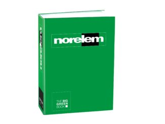 THE BIG GREEN BOOK reúne las 45.000 soluciones de norelem para ingenieros
