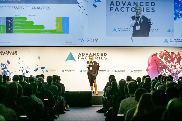 Ponencia en Advanced Factories