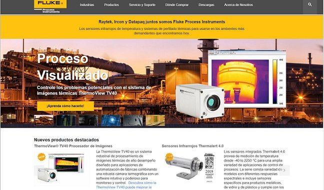 Fluke Process Instruments estrena sus sitios web en español y francés