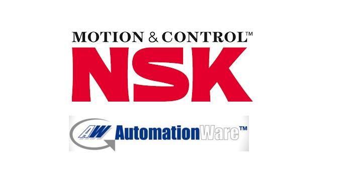 Automationware se beneficia de la serie HTF de husillos a bolas de NSK