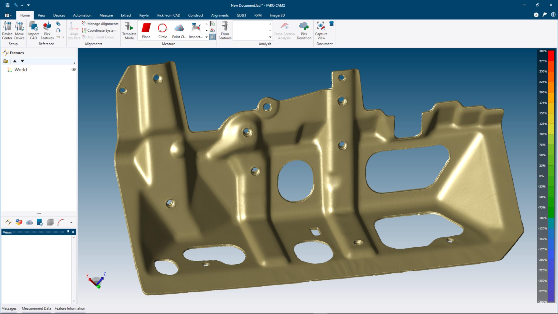 FARO® presenta su nuevo software de metrología CAM2 2019