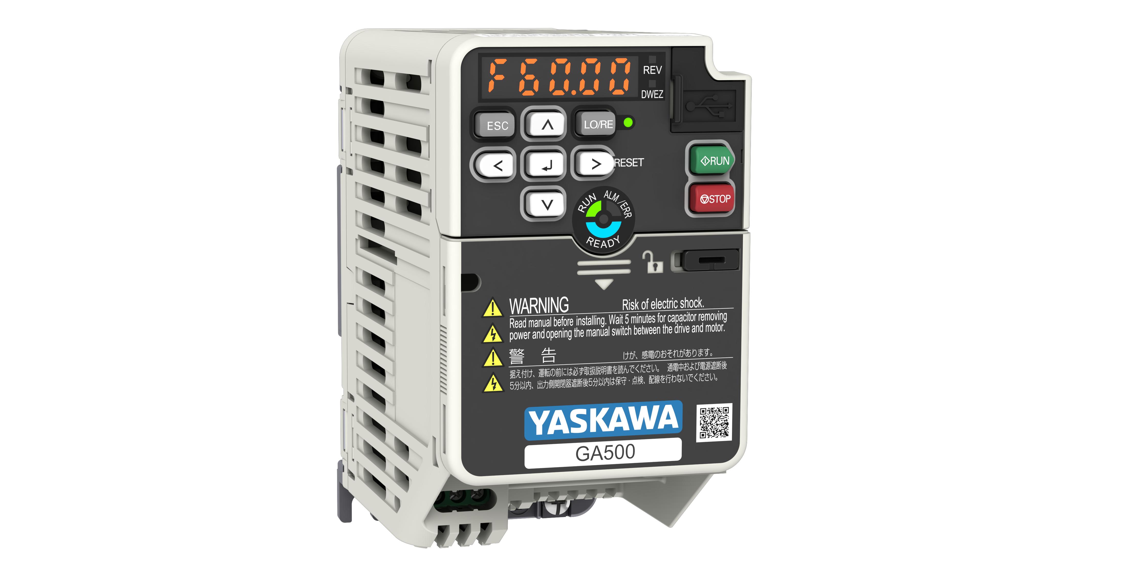 Yaskawa presenta el nuevo y compacto variador de frecuencia GA500