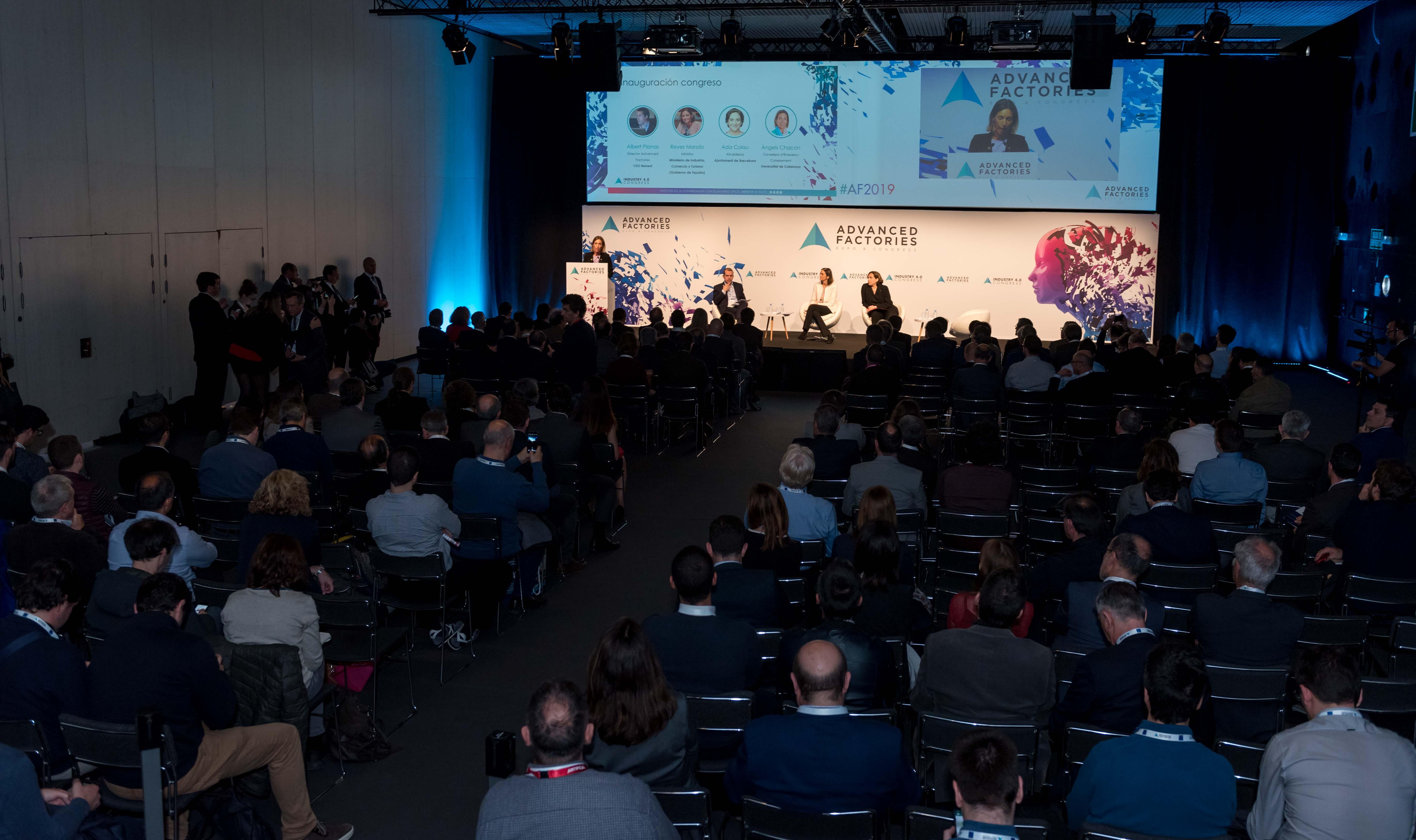Advanced Factories 2020 presenta la nueva visión industrial