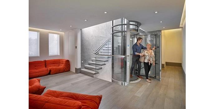 PVE Lifts está revolucionando el sector con el primer ascensor que funciona por aire gracias al vacío neumático de la tecnología patentada Vacuum | Foto: PVE Lifts