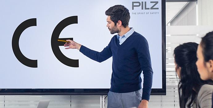 Pilz forma expertos en marcado CE