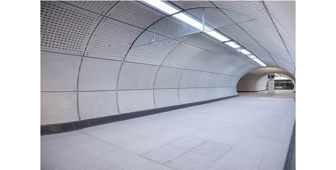 Mejora de la seguridad y el rendimiento de las luminarias de transporte en la línea británica de ferrocarril Crossrail con Southco